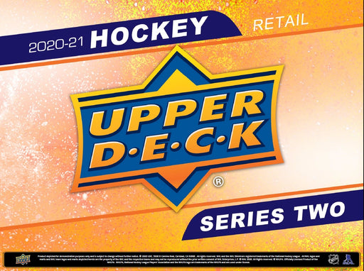 Upper Deck - 2020-21 - Hockey - Series 2 - Fat Pack - Pre-Order March 10th 2021