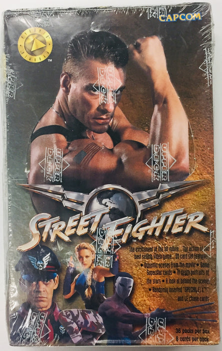 Upper Deck - Street Fighter Trading Cards - Hobby Box