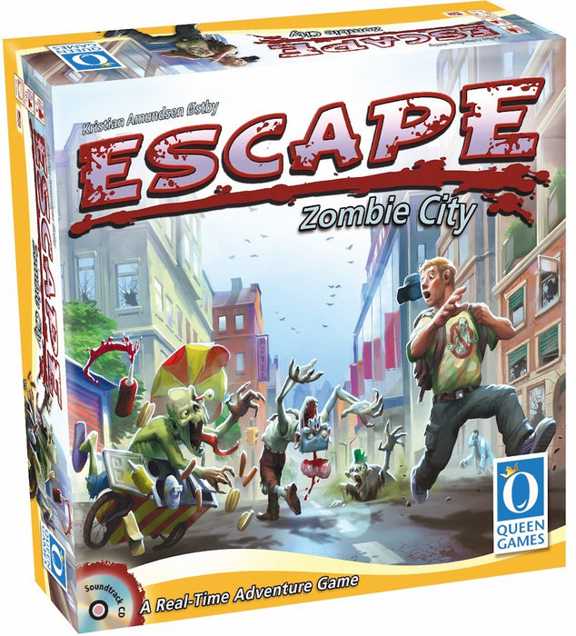 Escape - Zombie City Queen Games | Cardboard Memories Inc.
