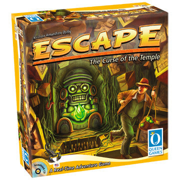 Escape - The Curse of the Temple Queen Games | Cardboard Memories Inc.