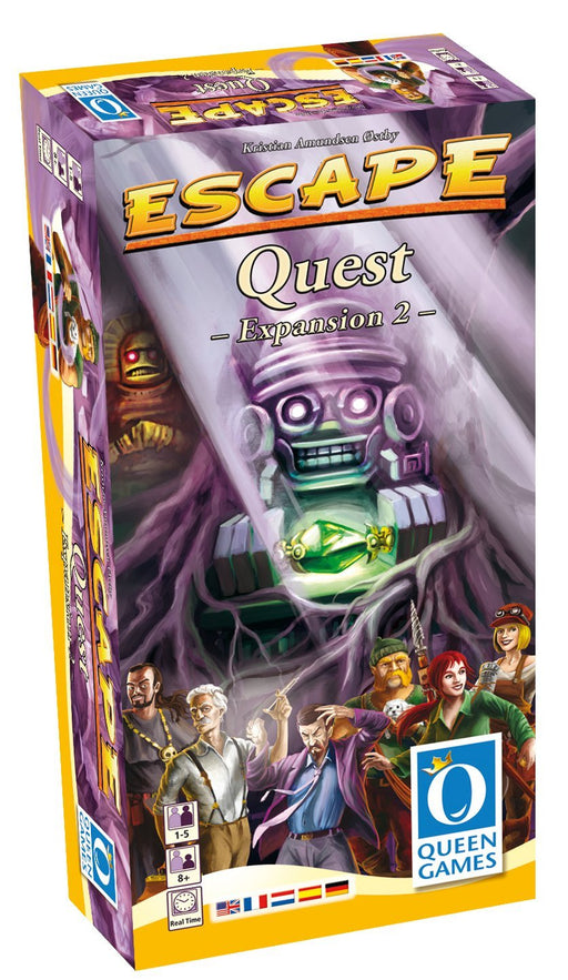 Escape - The Curse of the Temple - Quest Expansion Queen Games | Cardboard Memories Inc.