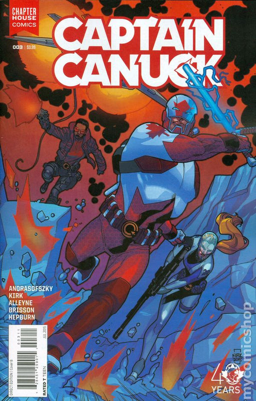 Chapter House Comics - Captain Canuck 003- Cover B- 2495