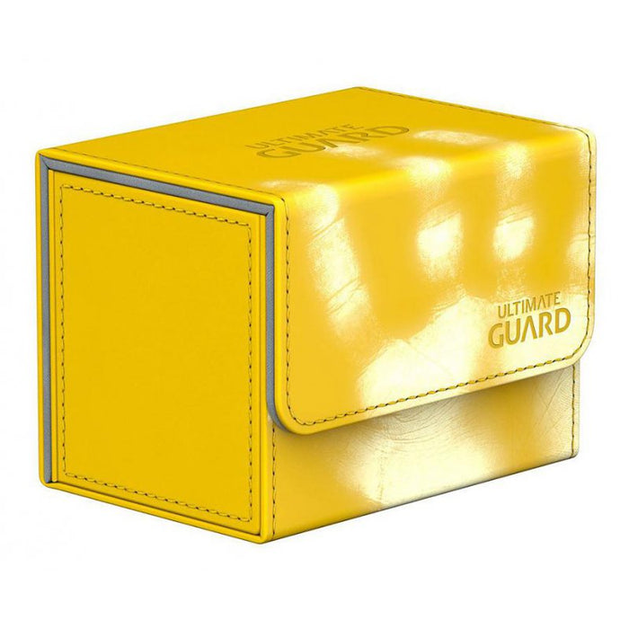 Ultimate Guard Sidewinder ChromiaSkin - Yellow Xenoskin (80+) Ultimate Guard | Cardboard Memories Inc.