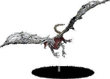 Dungeons & Dragons Icons - Rage of Demons White Dracolich Premium Figure Wizards of the Coast | Cardboard Memories Inc.