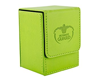 Ultimate Guard - Flip Deck Case - Green Leather - 80