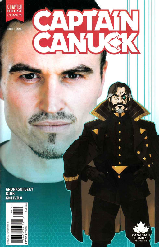 Chapter House Comics - Captain Canuck 008- Cover B- 2498