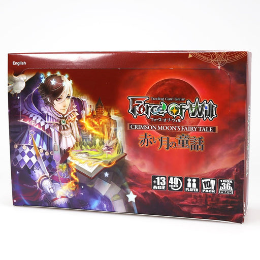 Force of Will - Crimson Moon's Fairy Tale Booster Box Force of Will | Cardboard Memories Inc.