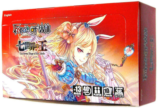Force of Will - The Seven Kings of the Lands Booster Box Force of Will | Cardboard Memories Inc.