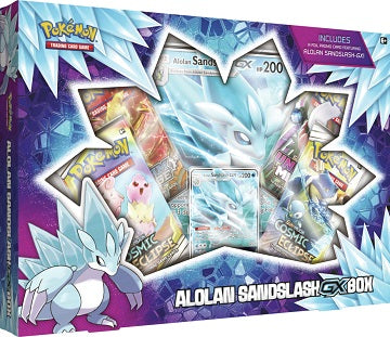 Pokemon - Alolan Sandslash - GX Box