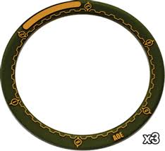 Warmachine - 4-Inch Area of Effect Ring Markers - PIP 91080 Privateer Press | Cardboard Memories Inc.