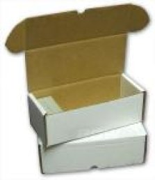 500 Count Cardboard Card Box Ultra Pro | Cardboard Memories Inc.