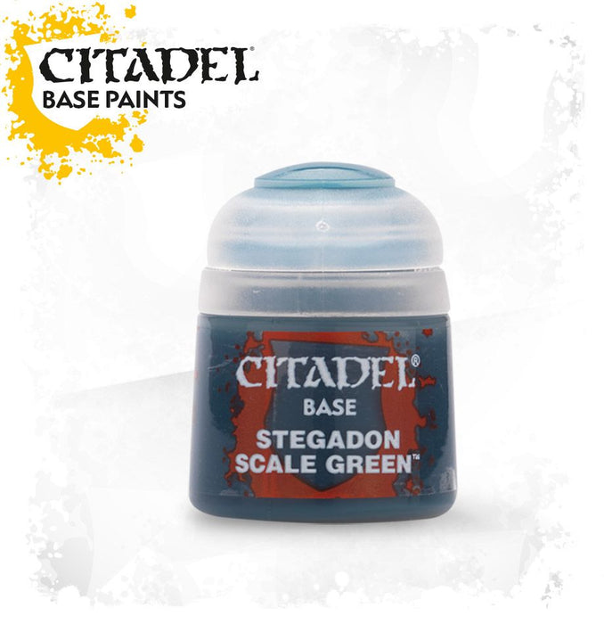 Citadel Base - Stegadon Scale Green 21-10 Citadel | Cardboard Memories Inc.