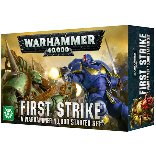 Warhammer 40,000 - First Strike Warhammer Starter Set 40-04-60 Games Workshop | Cardboard Memories Inc.