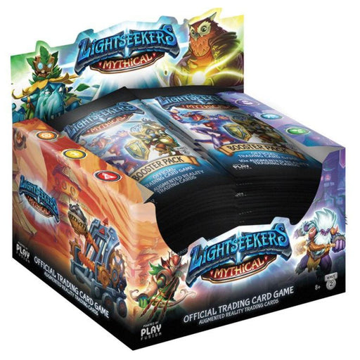 Lightseekers Mythical Booster Box TOMY | Cardboard Memories Inc.