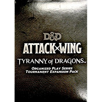 Dungeons & Dragons Attack Wing - Tyranny of Dragons Tournament Expansion Pack Wizkids | Cardboard Memories Inc.