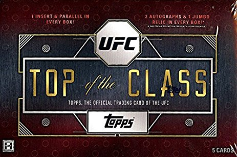 Topps - 2016 - UFC - Top of the Class - Hobby Box