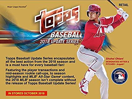 2018 Topps Update Baseball Retail Box