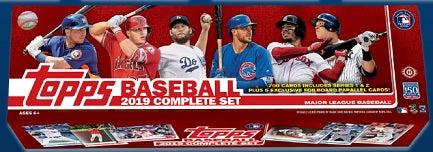 2019 Topps Baseball Complete Set (Pre-Order July 3rd, 2019)