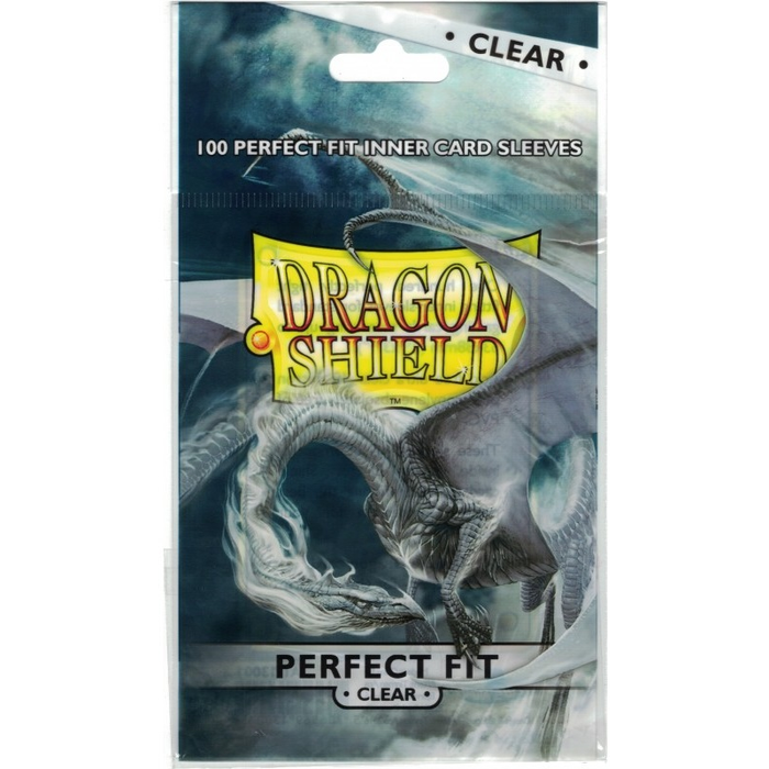 Dragon Shield Sleeves - Standard Size - Perfect Fit Clear Arcane Tinmen | Cardboard Memories Inc.