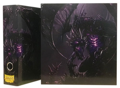 Dragon Shield Slipcase Binder - Dragon Art Black Arcane Tinmen | Cardboard Memories Inc.