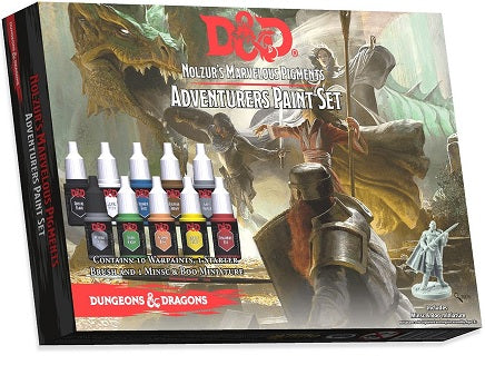 Wizards of the Coast - Dungeons and Dragons - Nolzurs Marvelous Pigments - Adventurers Paint Set