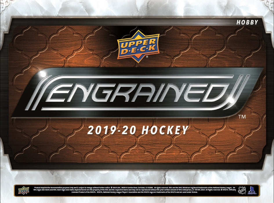 Upper Deck - 2019-20 - Hockey - Engrained - Hobby Box