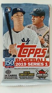 Topps - 2019 - Baseball - Series 1 - Card Pack