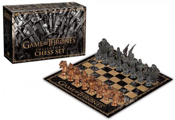 Usaopoly - Game of Thrones - Collector's Chess Set
