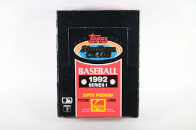 Topps - 1992 - Series 1 - Baseball - Stadium Club - Hobby Box