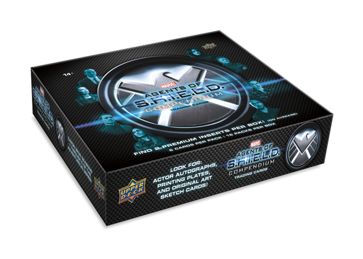 Upper Deck - 2019 - Agents of Shield - Compendium - Hobby Box