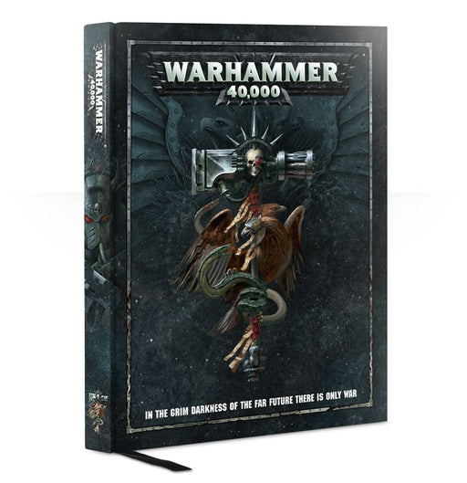 Warhammer 40,000 - Rulebook Games Workshop | Cardboard Memories Inc.
