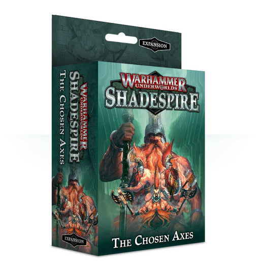 Warhammer Underworlds: Shadespire - The Chosen Axes Games Workshop | Cardboard Memories Inc.