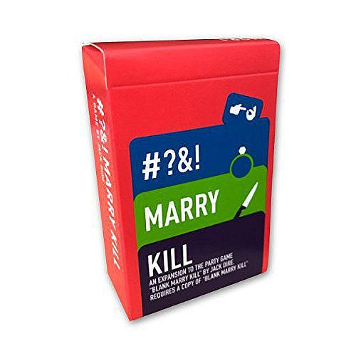 Blank Marry Kill - Rated R Expansion Jack Dire Studios | Cardboard Memories Inc.