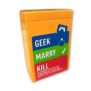 Blank Marry Kill - Geek Expansion Jack Dire Studios | Cardboard Memories Inc.