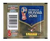 2018 Panini FIFA World Cup Russia Sticker Pack Panini | Cardboard Memories Inc.