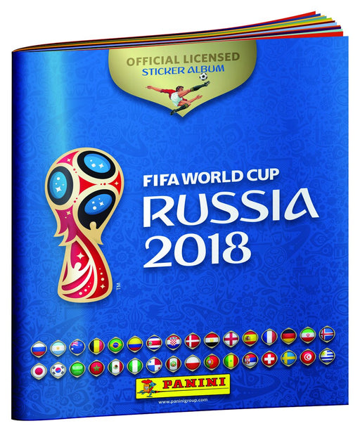 2018 Panini FIFA World Cup Russia Sticker Album Panini | Cardboard Memories Inc.