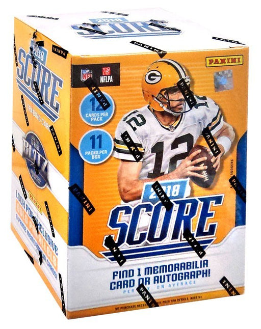 2018 Panini Score Football Blaster Box Panini | Cardboard Memories Inc.