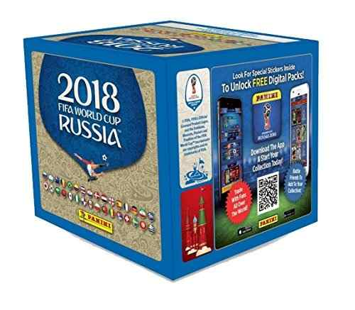 2018 Panini FIFA World Cup Russia Sticker Box Panini | Cardboard Memories Inc.