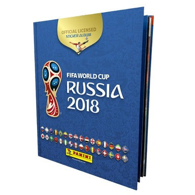 2018 Panini FIFA World Cup Russia Sticker Album (Hardcover)