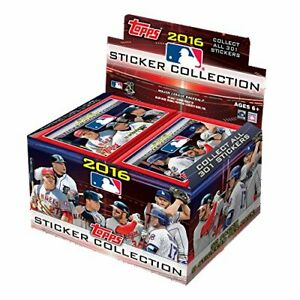Topps - 2016 - Baseball - MLB Baseball Sticker - Collection Box