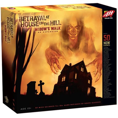 Betrayal at House on the Hill - Widow's Walk Expansion Avalon Hill | Cardboard Memories Inc.