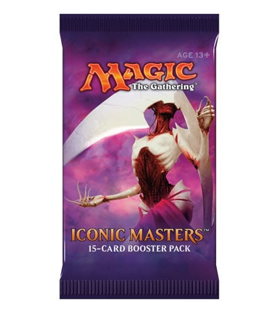 Magic the Gathering Iconic Masters Booster Pack Magic The Gathering | Cardboard Memories Inc.