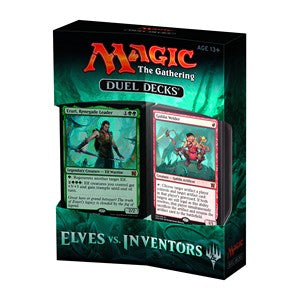 Magic the Gathering Duel Deck - Elves vs Inventors Magic The Gathering | Cardboard Memories Inc.