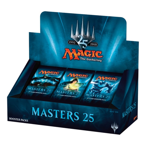 Magic the Gathering Masters 25 Booster Case (4) Magic The Gathering | Cardboard Memories Inc.
