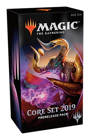 Magic the Gathering Core Set 2019 Pre-Release Pack