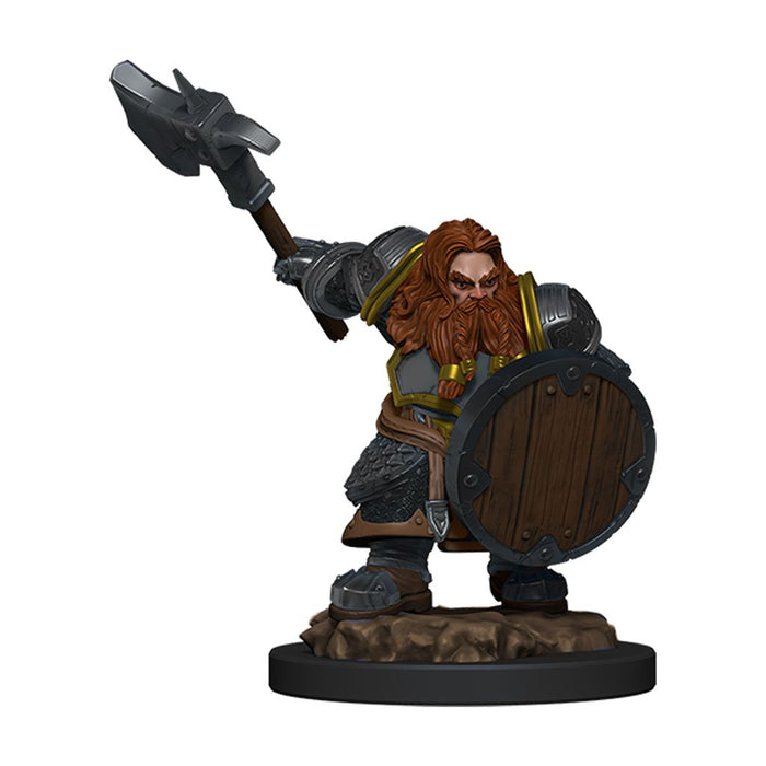 Wizards of the Coast - Dungeons and Dragons - Icons of the Realms - Male Elf Fighter - Premium Figure
