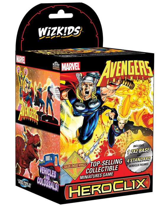 Wizkids - Marvel - HeroClix - Avengers Infinity Colossal - Booster Pack