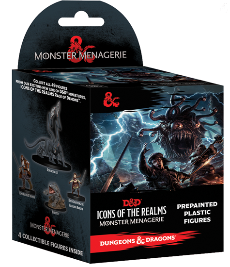 Dungeons & Dragons Icons - Monster Menagerie Booster Pack Wizards of the Coast | Cardboard Memories Inc.