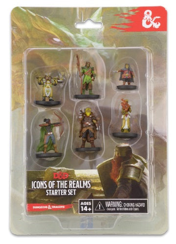 Dungeons & Dragons - Icons of the Realms Starter Set Wizards of the Coast | Cardboard Memories Inc.