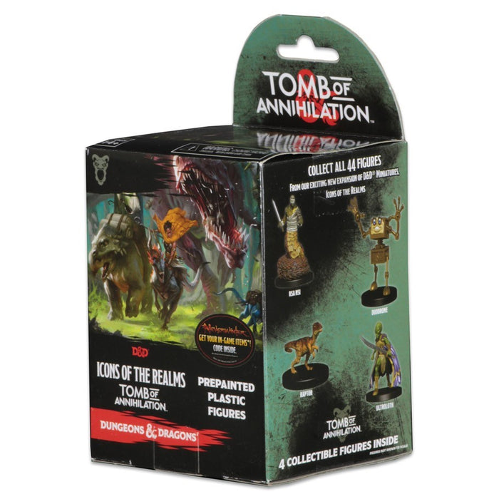 Dungeons & Dragons Icons - Tomb of Annihilation Booster Pack Wizards of the Coast | Cardboard Memories Inc.